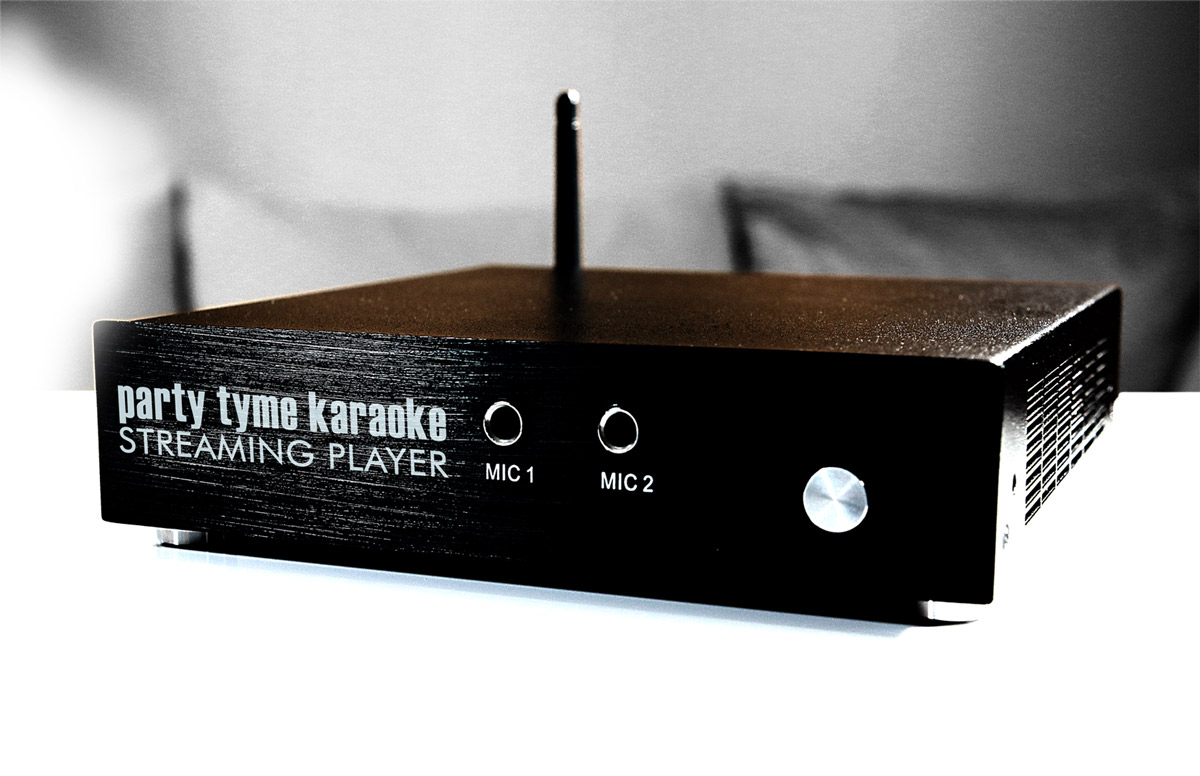 party tyme streaming karaoke player